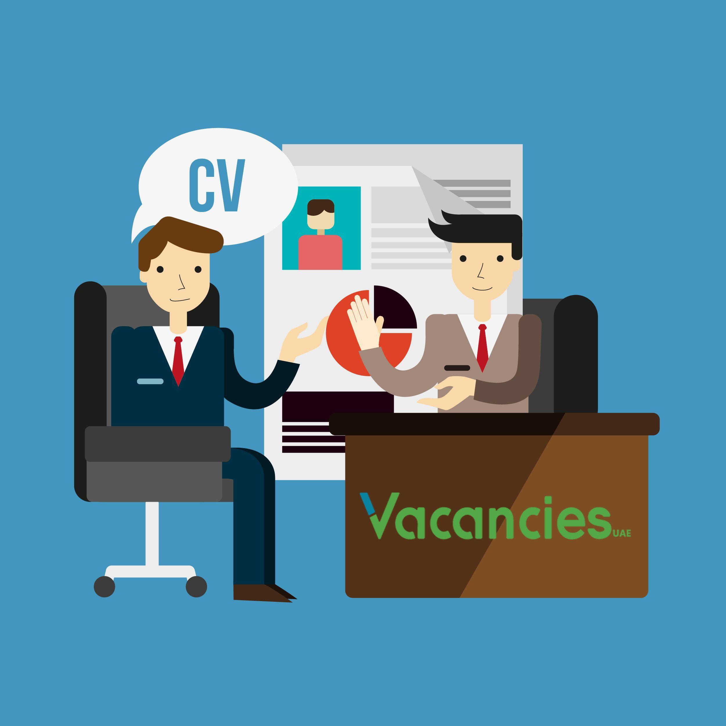 Create your cv at vacanciesae resume template