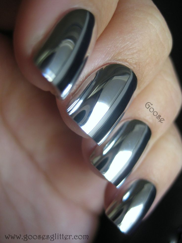 Yes They Are Fake Nails If You Remember I Tried One Of These Mirror On The Other Day And Compared Them To Like Finishes