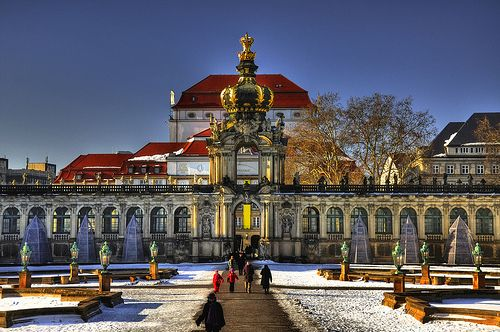 The Zwinger Der Dresdner Zwinger Is A Palace In Dresden Eastern Germany Built In Rococo Style Archaeological Eviden Dresden Germany Germany Poland Dresden