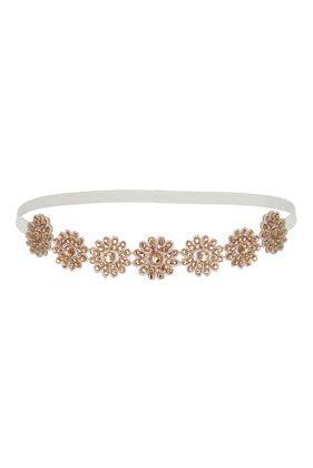 Pink Crochet Flower Headband - Hair Accessories - Bags & Accessories