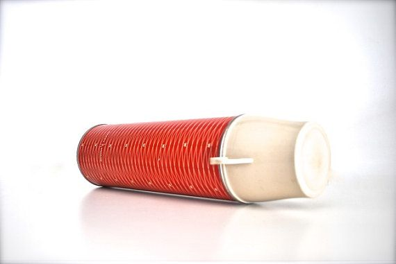 Red Vintage Thermos