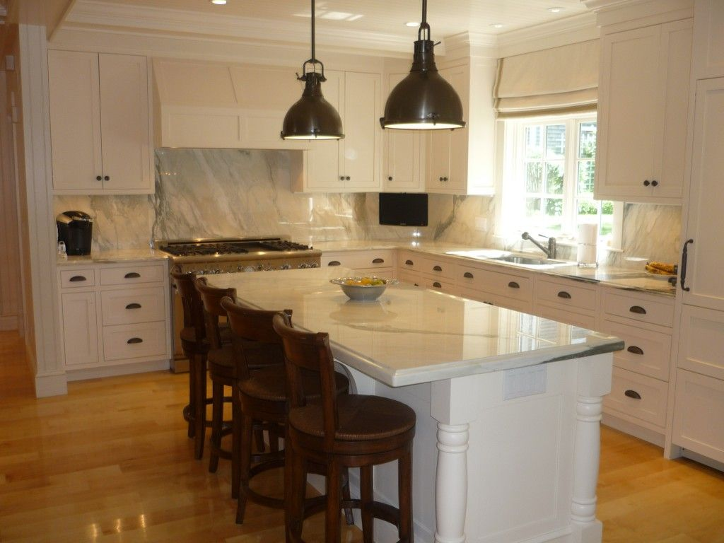 Kitchen Design Dark Rounded Cone Stainless Kitchen Island