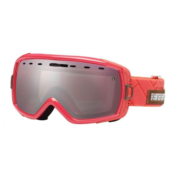 Smith Heiress Goggles - Coral Alpenglow / Red Mirror