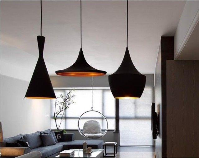 Exotic-Stunning-Modern-Black-Pendant-Lighting-Kitchen.jpg (640×506)