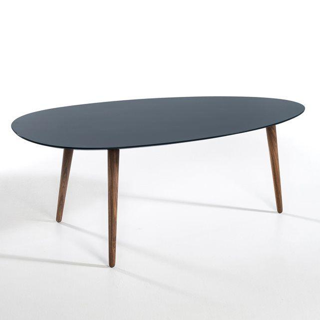 Table Basse Flashback Laque Et Noyer Massif Grand Am Pm Table Basse Laquee Table Basse Mobilier De Salon