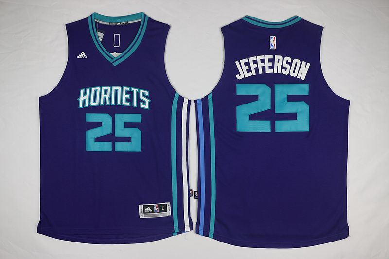 064590db9 ... New Orleans Hornets 25 Jefferson Purple Men 2017 New Logo NBA Adidas  Jersey Get your official Minnesota ...
