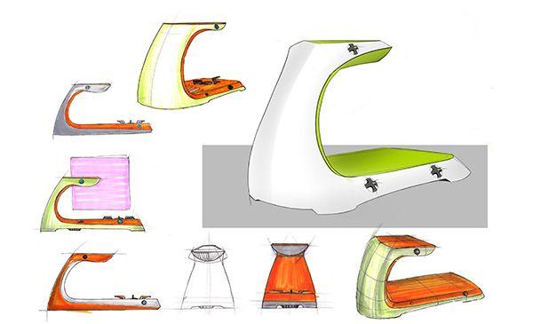 Esta estufa es un dispositivo de cocción de próxima generación para familias pequeñas.  stove_05