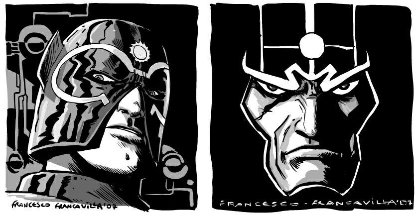 New Gods Orion and Metron