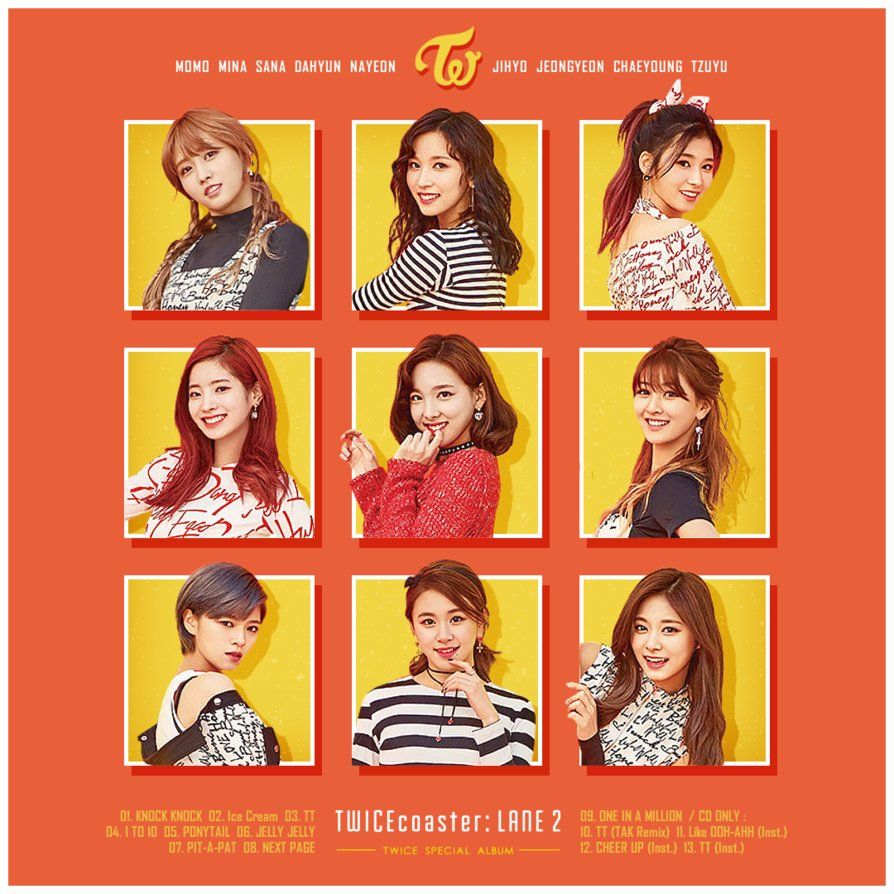 TWICE / TWICEcoaster : LANE 2 by TsukinoFleur | ○ Singles di 2019