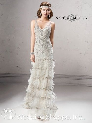 The perfect dress for your 20\'s inspired wedding! Sottero and ...