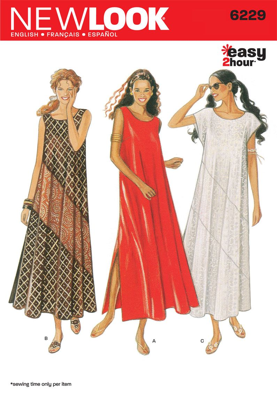 Simplicity looks like a cute maxi dress it says itus easy