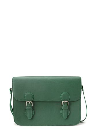 Runaround Faux Leather Satchel | FOREVER21 - 1000126657