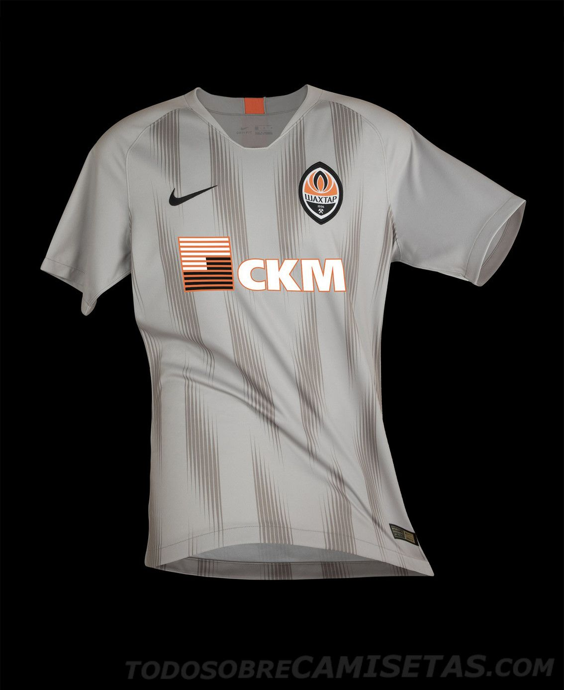 Shakhtar Donetsk Nike Away Kit 2018-19 Uniformes De Futbol a93cc393976