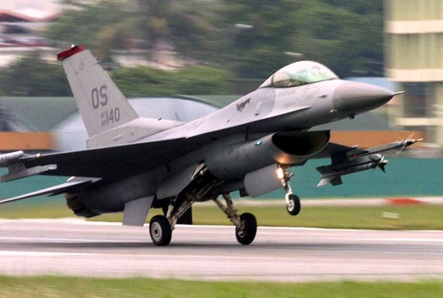 Force F-16.