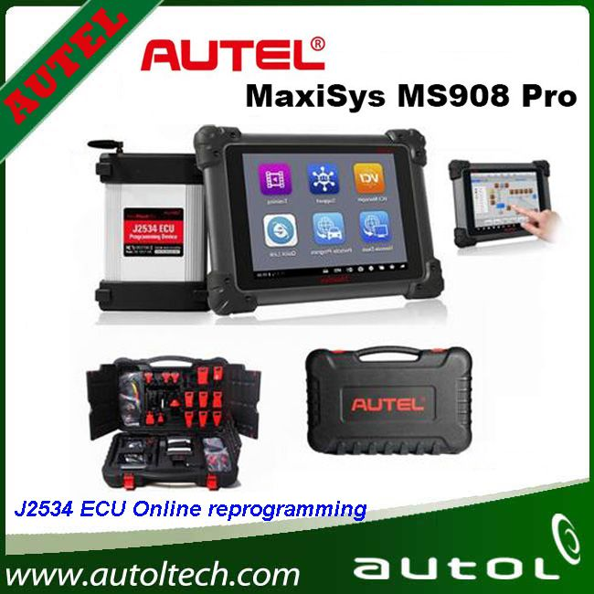 ecu programming system with j2534 reprogramming box update onlie multi language autel maxisys. Black Bedroom Furniture Sets. Home Design Ideas