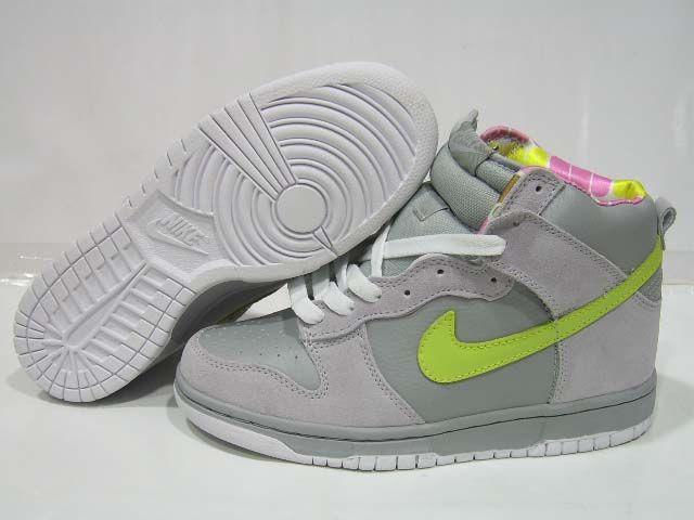 Nike Dunk SB High Gray Green Grey