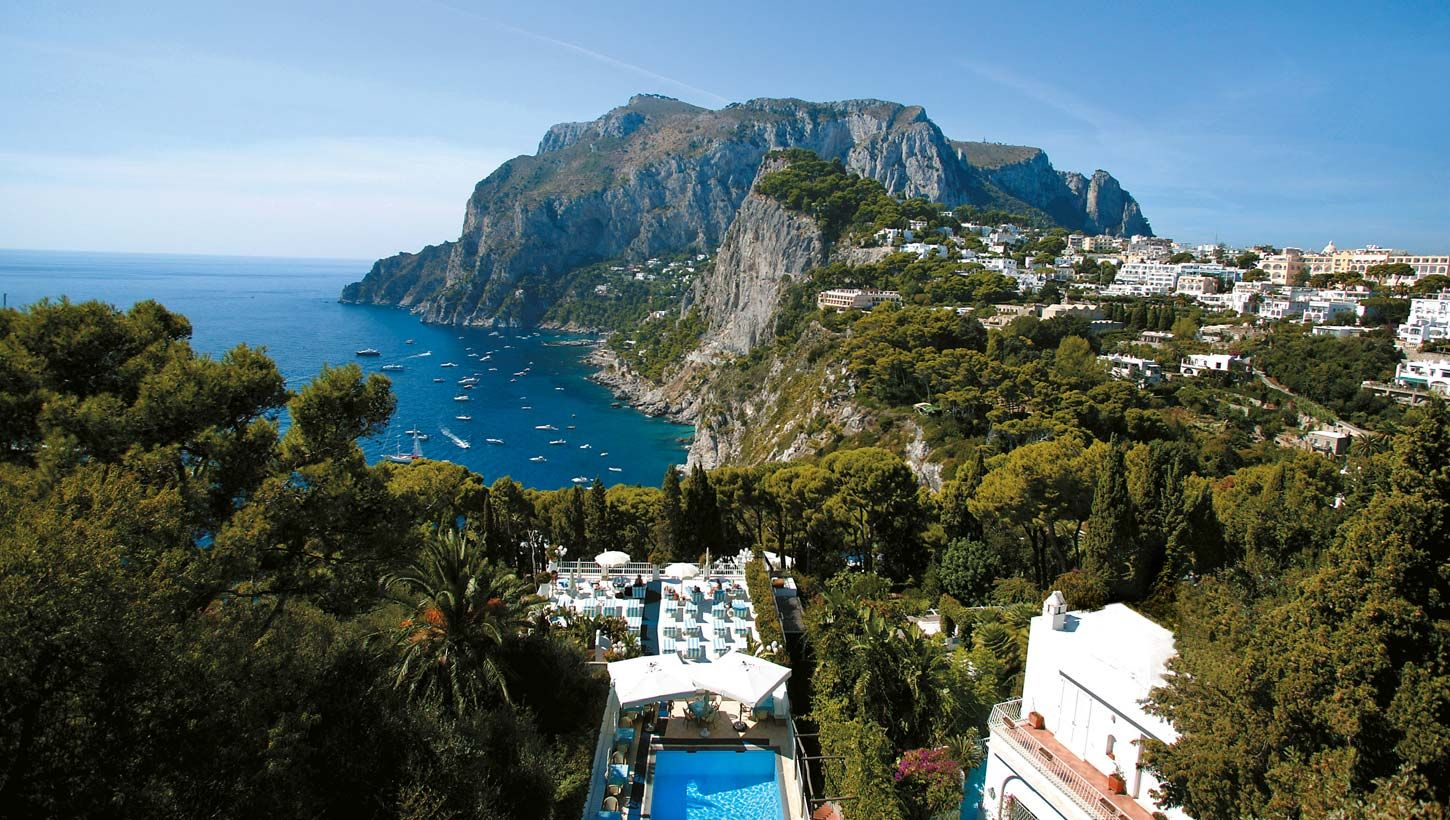 Villa Brunella Capri Italy Oh The Places I Will Go