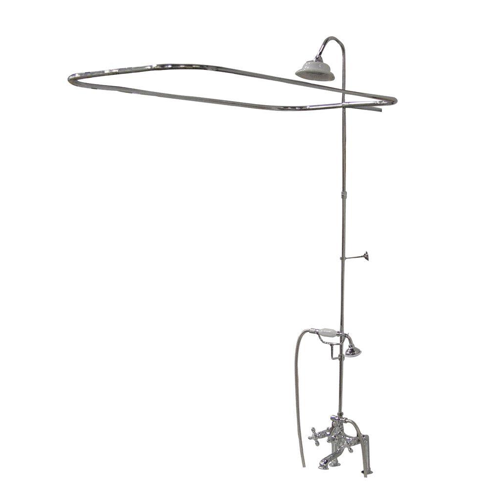 Mesmerizing Clawfoot Tub Shower System Photos - Best Ideas ...
