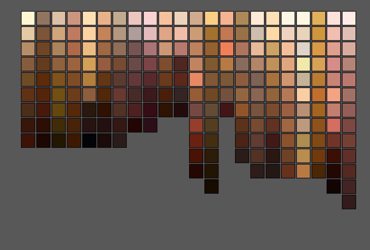 Game boy color palette gimp - Tumblr_mmj233loed1rlwzf4o3_1280 Jpg 1280 866 Skin Color Paletteskin