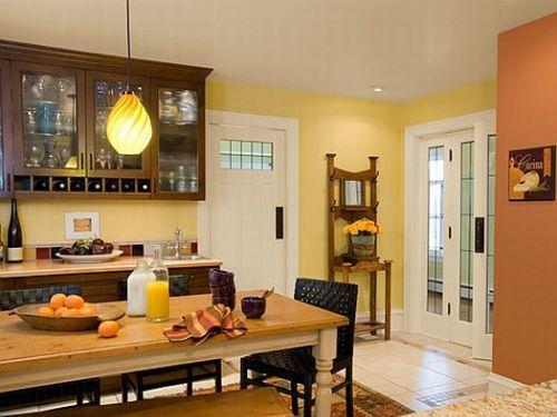 Colors for Kitchen Walls with Oak Cabinets | Let\'s Paint | Pinterest ...