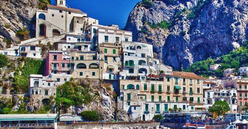 Pontos turísticos em Amalfi #viajar #viagem #itália #italy