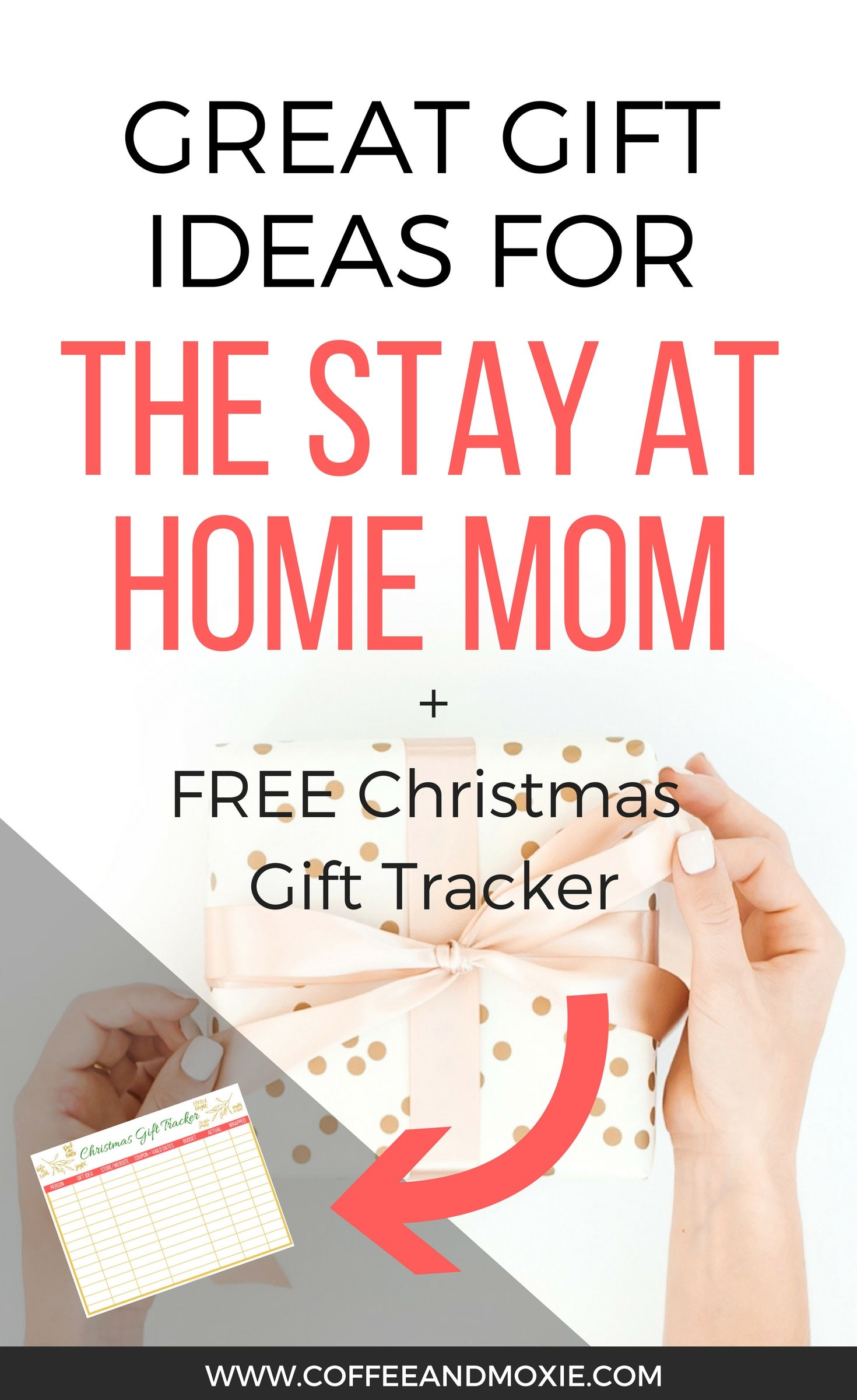 Gift Guide for Stay at Home Moms | Gift