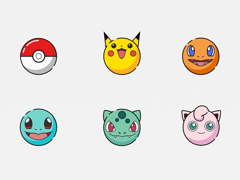 Pokemon Icons Pokemon Sketch Pokemon Cute Pokemon
