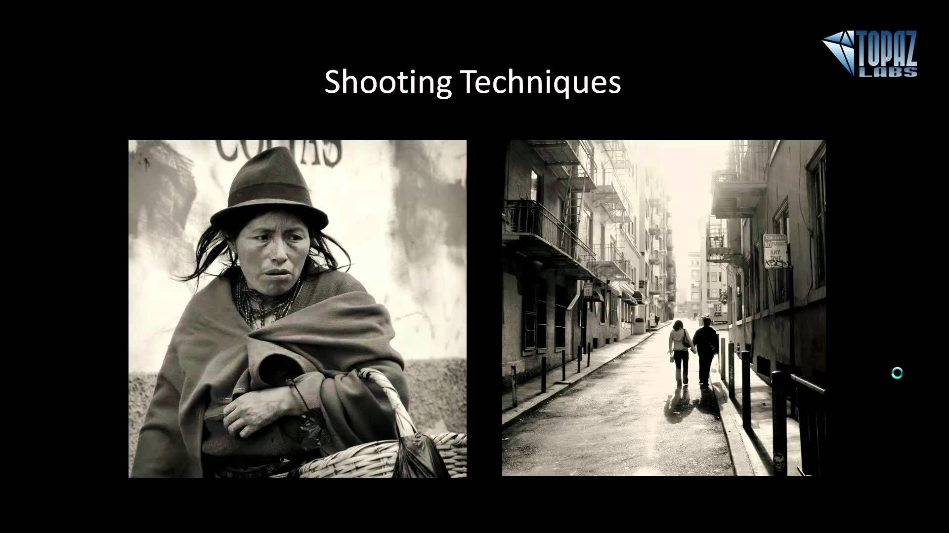 Street photography basics via youtube