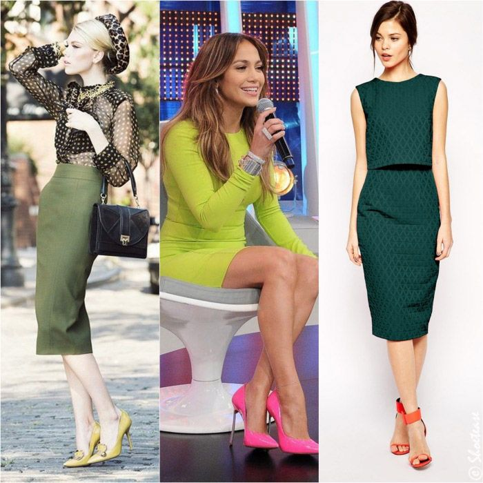 Best Color Shoes To Wear With Green Dress Green Shoes Outfit Lime Green Shoes Khaki Dress Outfit