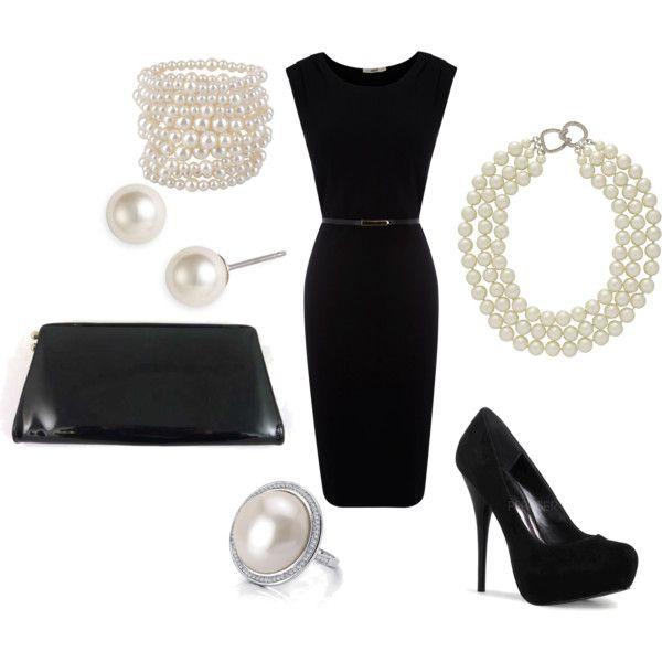 Little Black Dress Created By Soccerfam93 On Polyvore Little Black Dress Fashion Style