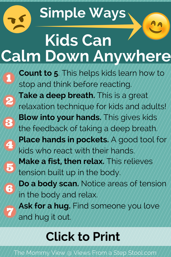Photo of The 5 tips that WILL help you calm your angry child down.