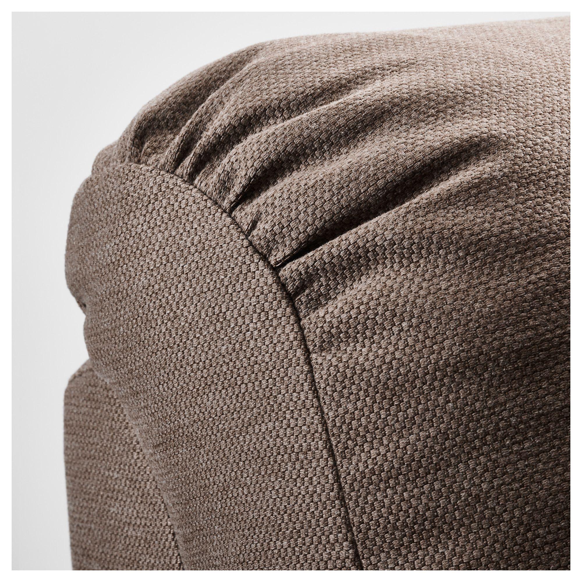 Tidafors Corner Sofa With Arm Left Dansbo Medium Brown Ikea