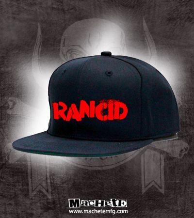 2404c86e Check out the deal on Rancid Stencil Embroidered Snapback at machetemfg.com