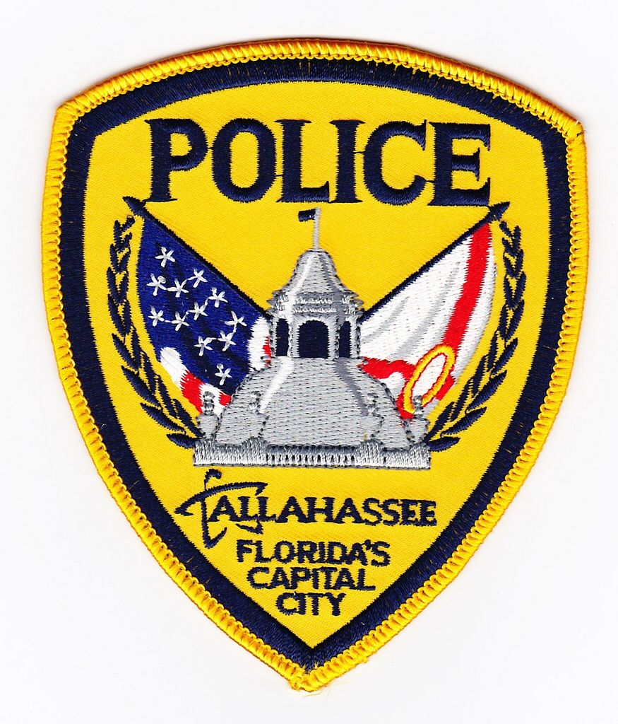 Fl tallahassee police department police patches