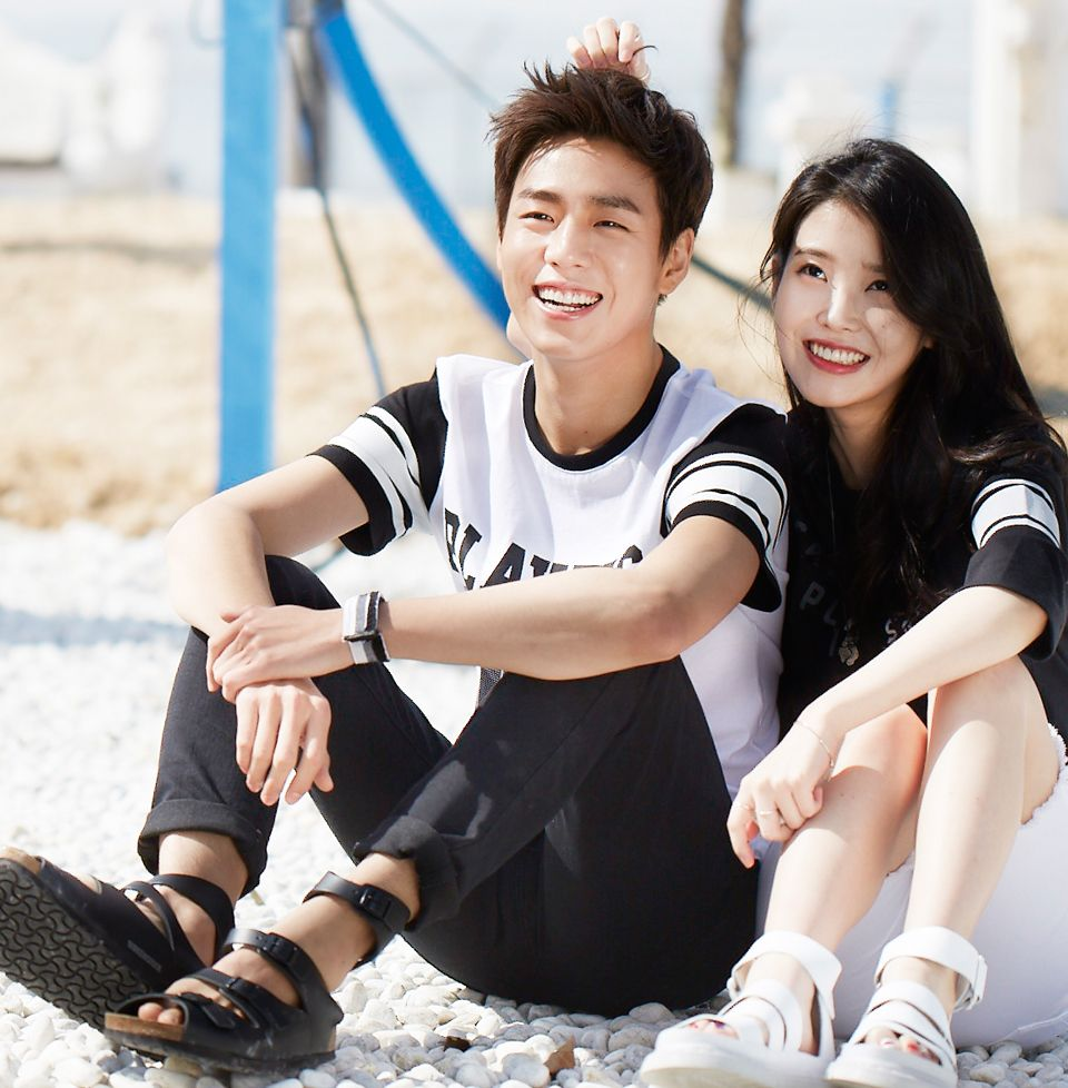 IU and Lee Hyun Woo Are the Perfect Couple In Spring