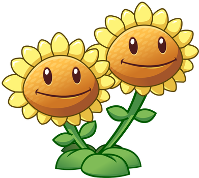 Plants Vs Zombies 2 Twin Sunflower By Illustation16 Plants Vs Zombies Plant Zombie Zombie