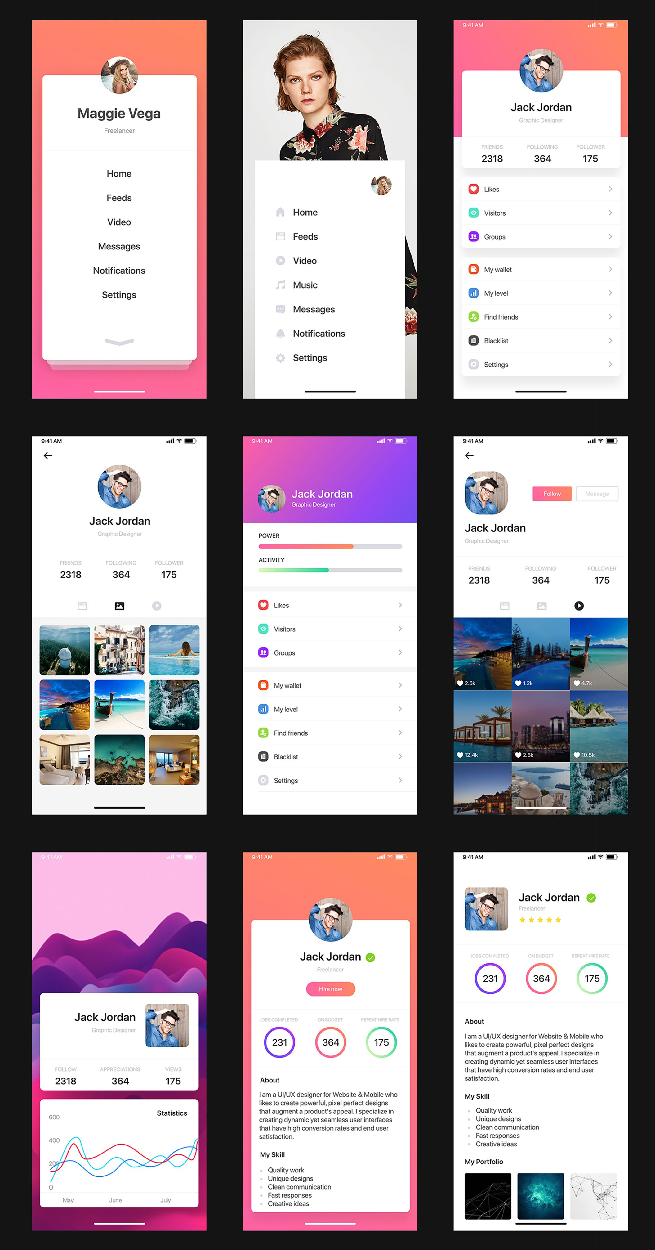 Pin on Mobile UI Trends