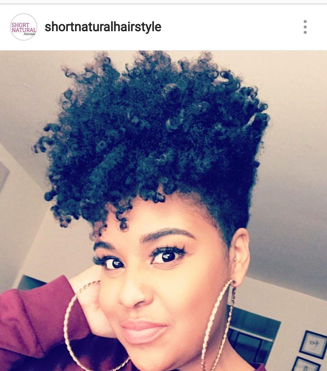 Kym's Natural Disaster | Hair styles, Natural hair styles, Tapered ...