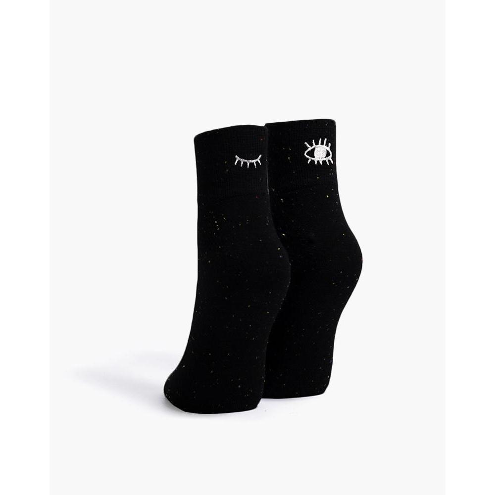 Blink Sock in Black Speckle