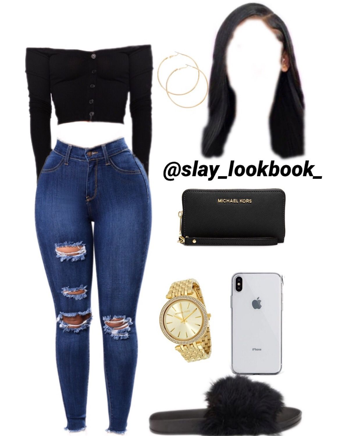 Follow my instagram page @slay_lookbook_ for more cute fits