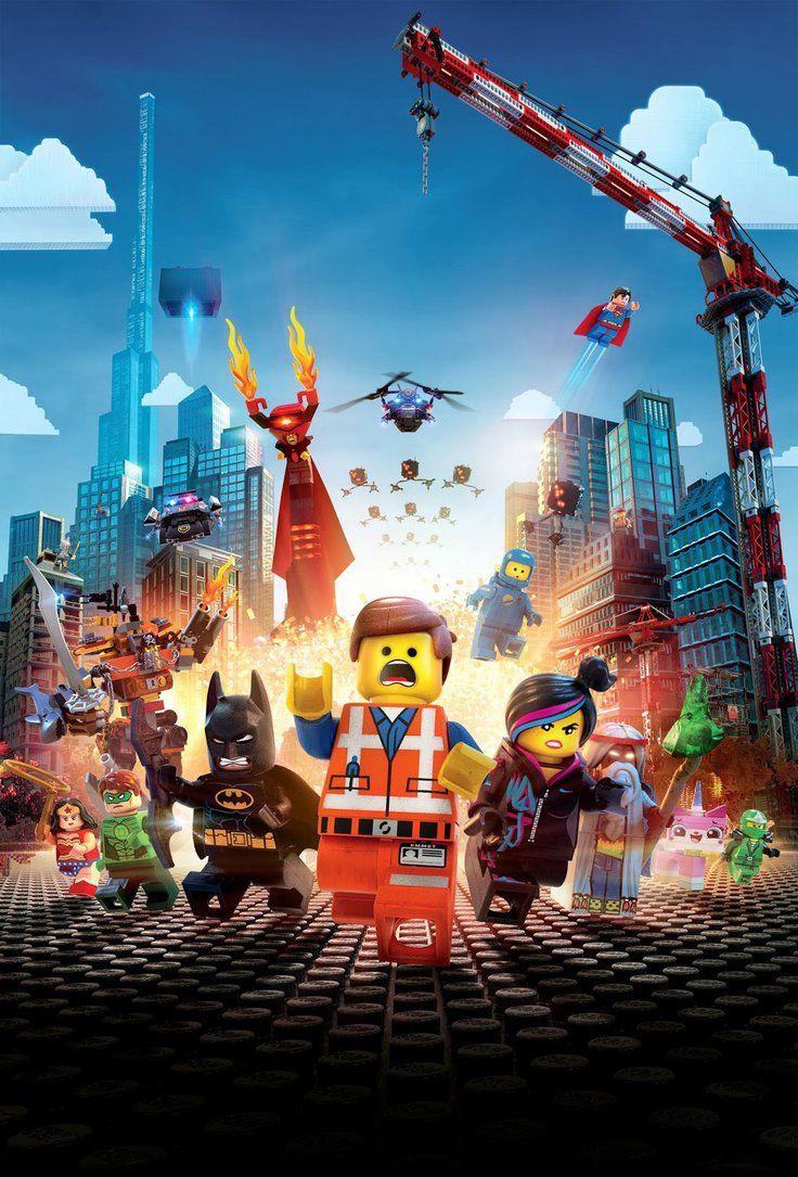 The Lego Movie Hi Res Textless Poster By Phetvanburton On