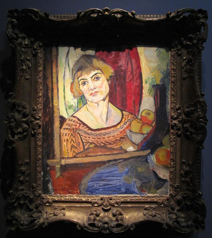 Suzanne Valadon The Blue Room Oil Paintings Painting Picture