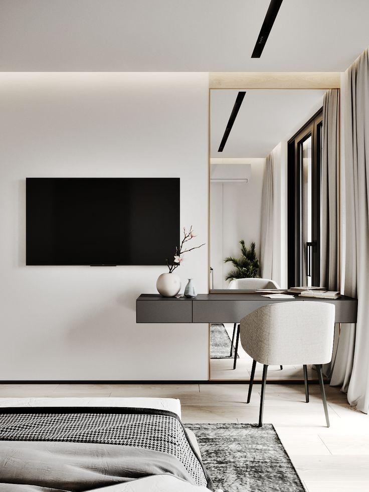 Minimalist Hotel Room: Minimalist Bedroom Design Image By Tilen Space On Bedroom
