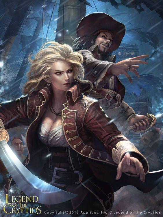 woman Fantasy pirate