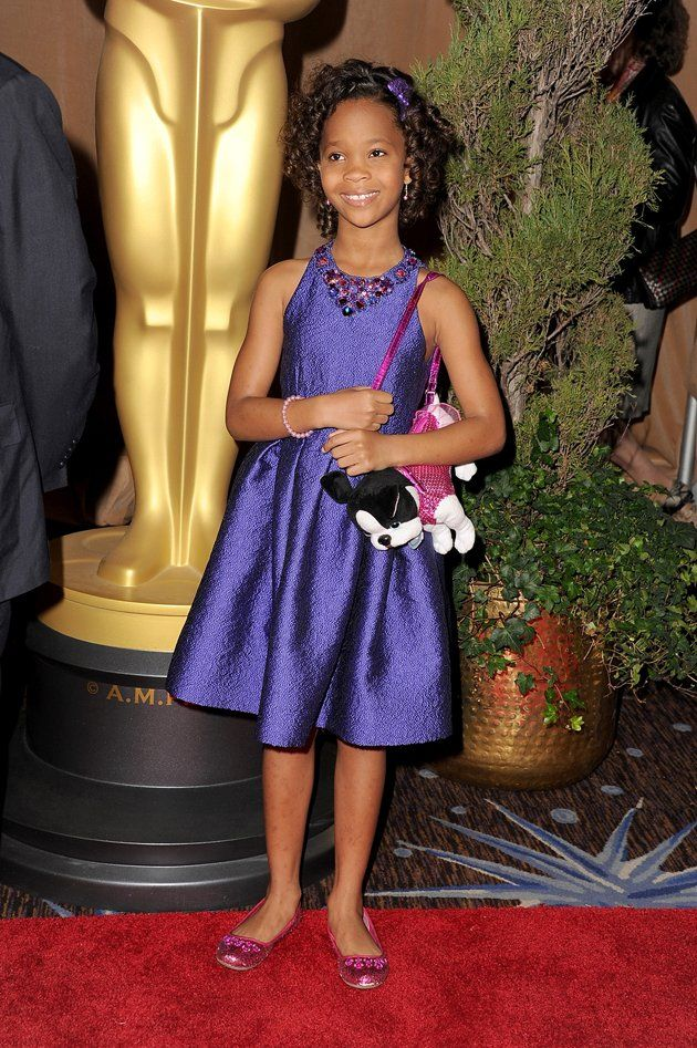 Quvenzhane Wallis attends the 85th Academy Awards Nominations ...