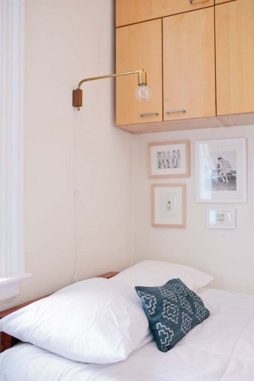 11 Ways To Squeeze A Little Extra Storage Out Of Small Bedroom Apartment Therapy
