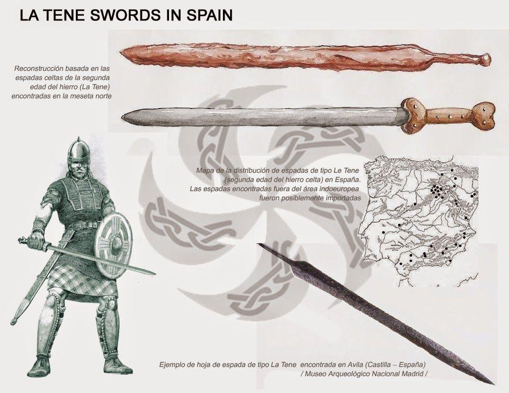 Espadas+de+La+Tene.jpg (1000×771)   Celtas, Rpg