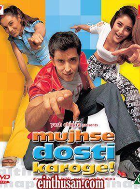 Mujhse Dosti Karoge Hindi Movie Online Hrithik Roshan Rani Mukerjee And Kareena Kapoor Directed By Hindi Movies Online Hindi Movies Hindi Bollywood Movies