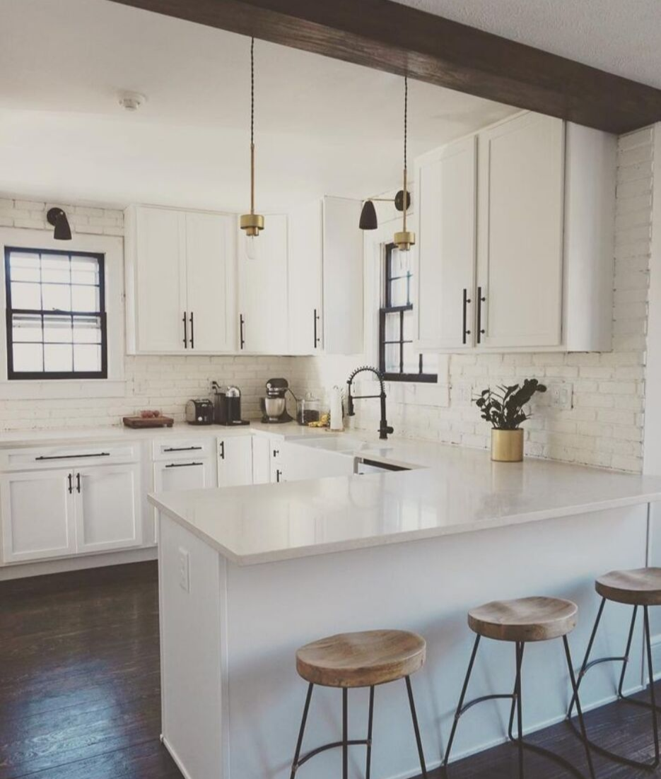 5 Ways To Style White Kitchen Cabinets Lily Ann Blogs
