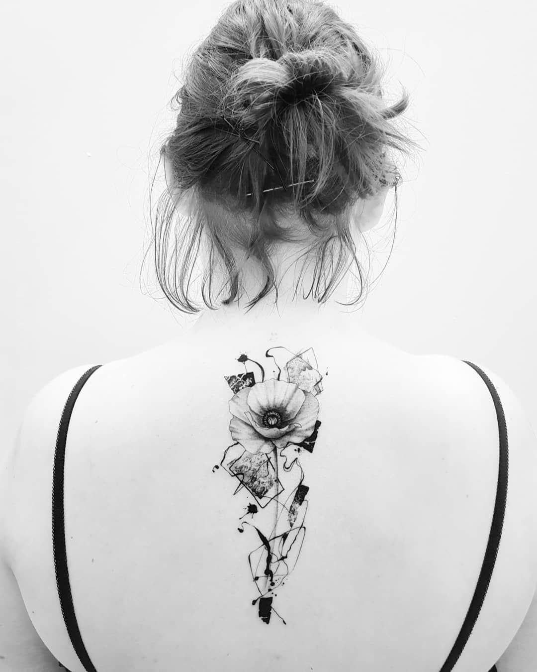 Poppy Tattoo Mohnblume Abstract Flower Tattoo Tattoos Fur Frauen Blumen Tattoo Abstract Flower Tattoos Poppies Tattoo Poppy Tattoo Sleeve